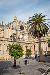Seville Cathedral location photography services