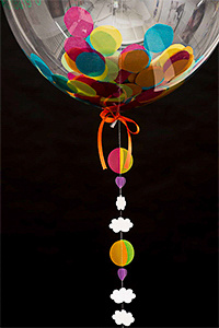 Balloon photograph for product website
